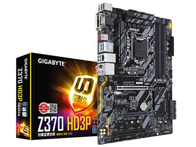 Gigabyte/技嘉 Z370 HD3P 台式机电脑游戏主板1151接口