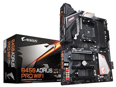 Gigabyte/技嘉 B450 AORUS PRO WIFI 台式机电脑游戏主板 AM4接口