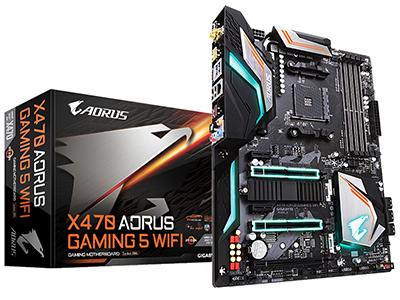 Gigabyte/技嘉 X470 AORUS GAMING 5 WIFI 台式机电脑游戏主板
