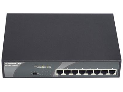锐捷 RG-NBS1808GC 监控交换机 8口千兆电口交换机,非网管机型