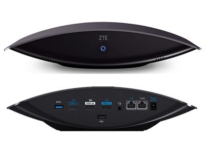 中兴 ZXV10 ET312 C精巧型视频会议终端采用最先进的H.265视频编解码技术,全高清1080p精美画质,拥有专业的音视频效果及超强的网络适应性,具有高可靠性和稳定性