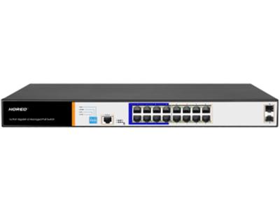 丰润达 PS3016GS 16口千兆二层管理型POE交换机 强大业务管理能力:支持VLAN、汇聚、Q0S、ACL、IGMP、端口监控等丰富业务功能,能满足中小企业、酒店及园区网络接入、汇聚应用场景 全千兆接入:配备16个下联千兆端口,2路上行千兆SFP插槽, 保证所有端口均可实现千兆无阻塞线速转发,传输更流畅。光口上行组网更灵活 HI POE:支持支持HI POE单口输出最大功率46W ,能兼容标准IEEE802.3af/at,整机电源功率150W 4种AI模式:支持4种快捷工作模式:AI VLAN、AI Extend,AI PoE,AI QOS