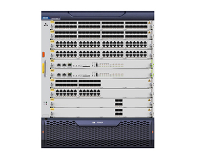中兴 ZXR10 8908E-S 核心交换机 是中兴通讯面向企业园区、数据中心和云计算推出的大容量、高性能、高可靠的核心交换机产品