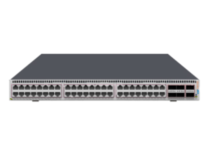 中兴 ZXR10 5960-72NL-H 数据中心交换机 持48个10GE RJ45端口,6个40GE QSFP+端口,两个风扇模块,两个电源模块