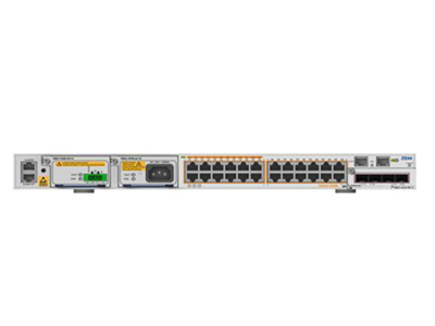 中兴 ZXR10 5928E 易维MPLS路由交换机 是面向企业网市场推出的模块化、高带宽、易维护、多业务、高可靠的三层千兆盒式交换机