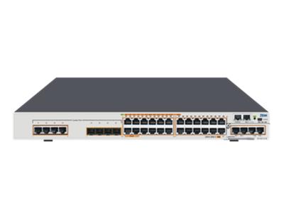 中兴 ZXR10 5950-36PM-H 全千兆智能路由交换机24*GE POE+端口+4*GE Combo端口+2*扩展卡