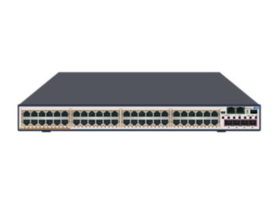 中兴 ZXR10 5950-52TD-L 全千兆智能路由交换机 48*GE RJ45端口 + 4*10GE SFP+端口