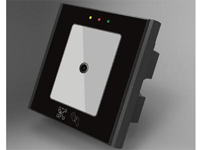 微耕 二维码读头  全新的二维码开发技术,  4V-15V宽幅电压输出,  工作电流:150mA,读取速度:70ms/次,  温度范围:-20~70摄氏度,  尺寸:86*86*39cm,  二维码加NFC刷卡功能,  可识读IC卡、NFC卡,身份证,  识读距离0-20cm,  支持232输出格式