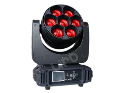 艺博  7颗调焦 LRYT004电压:AC90-240V 50-60Hz 功率:350W 来源:7颗40W高亮度 欧司朗 4合1 LED 缩放: