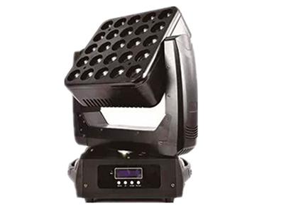艺博 25颗摇头矩阵 LRYT006技术参数: •电压:AC90-260V,50-60Hz •功率:400W •LED