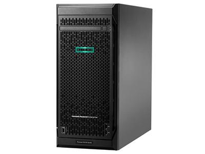 惠普HP ProLiant ML110 Gen10(878452-AA1)  標配一顆 IntelXeon Silver 4110處理器 (8 core, 2.1 GHz, 11MB, 85W),最大一顆;配置16 GB RDIMM DR 2666 MT/s (1x 16 GB)內存,6個內存插槽,最大支持192GB DDR4內存;集成HPE Ethernet 1Gb 2-port 332i Adapter 網絡控制器;配置嵌入式 HPE Smart Array S100i SR Gen10 SW SATA RAID 控制器,標配無硬盤,支持4個LFF 熱插拔硬盤,最大支持8個;可選9.5mm slim光驅;5個PCIe插槽;標配iLO5遠程管理端口,帶前置服務端口;8個USB 端口;550W非熱插拔電源;塔式(4.5U);3年5*9,NBD