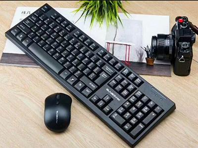 森松尼 SR1000s  无线机械手感键鼠套装