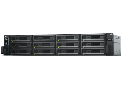 RackStation RS3618xs CPU 四核,高达 2.7GHz  RAM 选项 8GB DDR4 ECC UDIMM,高达 64GB 网络 4 x 1GbE 端口,可选 10GbE NIC 支持 可扩展性 可搭配 RX1217/RX1217RP 扩充至 36 颗硬盘