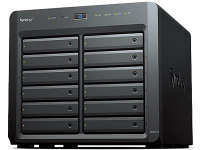 DiskStation DS3617xs CPU 四核 Xeon® D,可高达 2.7 GHz 内存容量 16GB DDR4 ECC RAM,高达 48GB 性能出色 读取速度每秒 2,358 MB 可扩展性 可搭配 DX1215 扩充至 36 个硬盘