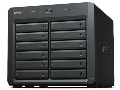 Expansion Unit DX1215 12 槽式扩充设备可轻松扩充 Synology DiskStation 容量