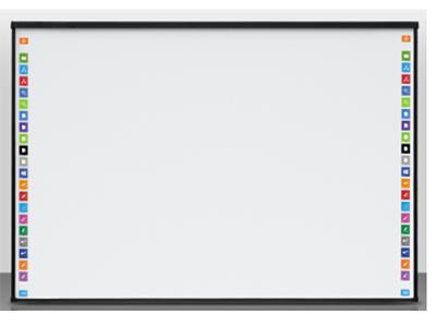 鴻合 HV-I593W 電子白板 尺寸:93英寸/紅外十點觸控/比例16:10