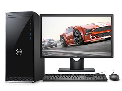戴尔 INS3670-1428S 台式机 i5-8400 8GB 1T Windows 10