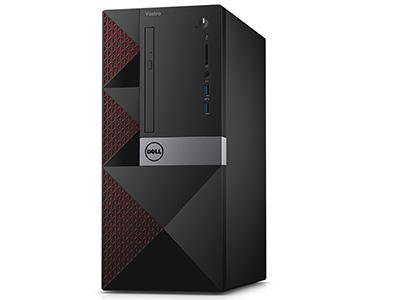 戴尔  V3668-2308 台式机 i3-7100 4GB 1TB Windows 10 HD630