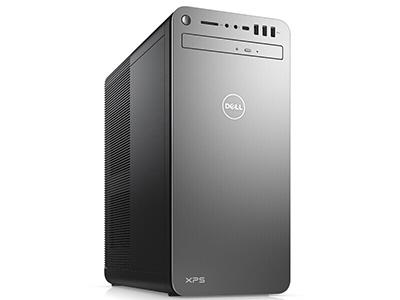 戴尔 XPS 8930-R1AN8S 银色 高端台式机 I7-8700 16G 2T+256G DR GTX1070 8G WIN10