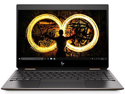 惠普 Spectre 13-af100TU 轻薄笔记本 I5-8265U/8G/256GB SSD/UMA/Win10/13.3FHD TS IPS/Type-C Multi Hub黑金