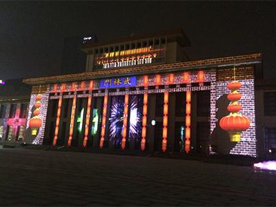 杭州武林廣場裸眼 3D 秀