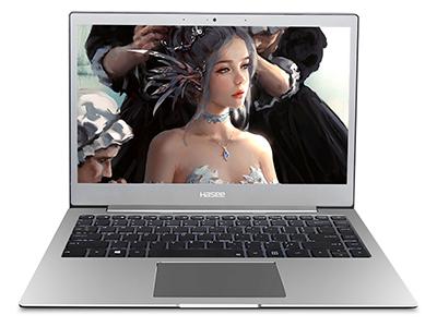 神舟 优雅X3D1 笔记本电脑 13.3IPS72\%色域高清屏/3867U /8G/256GSSD /无线网卡/摄像头/WIN10/白光键盘/全金属