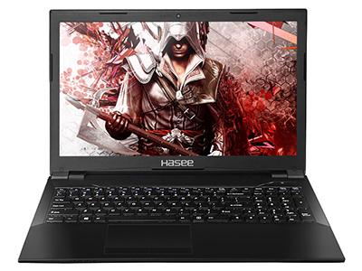 神舟 战神K670D-G4D5 笔记本电脑 15.6IPS45\%色域/G5400/8GDDR4/256GSSD/GTX1050 4GGDDR5独显/无线网卡/摄像头/WIN10