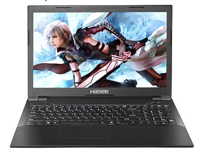 神舟 战神K680E-G4D4 笔记本电脑 15.6IPS45\%色域G5400/8GDDR4/256GSSD/GTX1050TI 4G GDDR5独显/无线网卡/WIN10/白光键盘