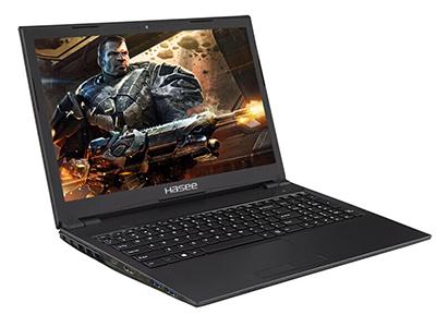 """神舟 战神ZX6-CP5T1 游戏笔记本 15.6"""" 45\%色域IPS高清屏(1920*1080)/Corei5-8400 /8GDDR4/1TB HDD+128GB SSD / GTX1050TI 4GGDDR5 /无线网卡/摄像头/正版Win10/白光键盘"""