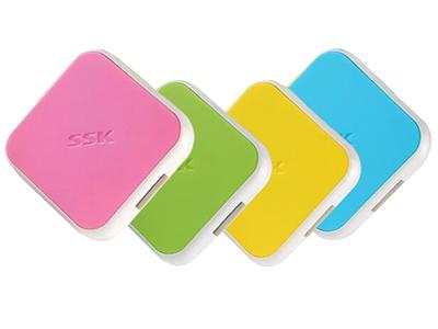 飚王SSK SHU029 缤纷USB HUB集线器