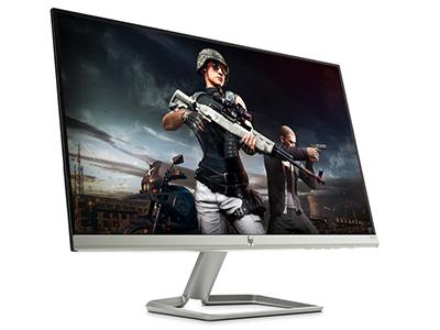 惠普 24ER 23.8英寸液晶电脑显示器高清窄边框吃鸡液晶显示屏