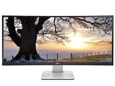 戴尔 U3415W  34英寸曲面3.5K高清 21:9 内置音箱IPS屏显示器