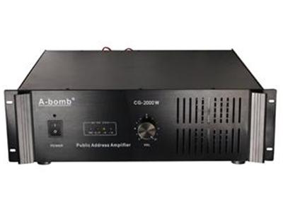 邦姆  CQ2000W  3U纯后级大功率功放CG系列