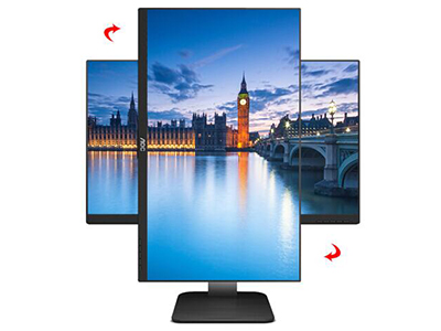 AOC 24P1U  产品类型:LED显示器,广视角显示器,护眼显示器 产品定位:大众实用 屏幕尺寸:23.8英寸 面板类型:IPS 最佳分辨率:1920x1080 可视角度:178/178° 视频接口:D-Sub(VGA),HDMI,Displayport 底座功能:侧转:175°,倾斜:-5-23°,旋转:90°,升降:130mm