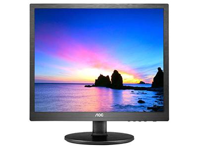 AOC I960SRDA  产品类型:LED显示器,广视角显示器 产品定位:商务办公 屏幕尺寸:19英寸 面板类型:IPS 最佳分辨率:1280x1024 可视角度:178/178° 视频接口:D-Sub(VGA),DVI-D 底座功能:倾斜:-5-22°