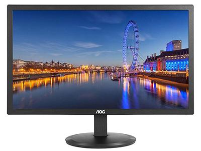 AOC E2280SWN  产品类型:LED显示器 产品定位:大众实用 屏幕尺寸:21.5英寸 面板类型:TN 最佳分辨率:1920x1080 可视角度:90/65° 视频接口:D-Sub(VGA) 底座功能:倾斜:-5-23°