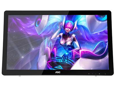 AOC E2272PWUT/BS  产品类型:触摸显示器 产品定位:大众实用 屏幕尺寸:21.5英寸 面板类型:TN 最佳分辨率:1920x1080 可视角度:170/160° 视频接口:D-Sub(VGA),HDMI×2