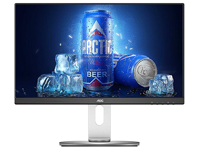 AOC I241PXQU  产品类型:LED显示器,护眼显示器 产品定位:大众实用 屏幕尺寸:23.8英寸 面板类型:AH-IPS 最佳分辨率:1920x1080 可视角度:178/178° 视频接口:D-Sub(VGA),HDMI,Displayport 底座功能:侧转:45°,倾斜:-5-23°,旋转:90°,升降:130mm