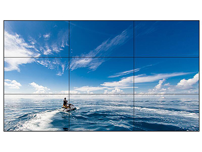AOC 55D6U 55英寸支持4K显示方案 双边拼缝1.7mm 广视角 拼接屏