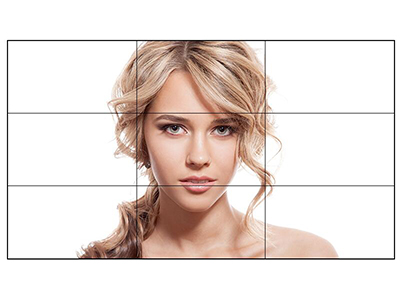 AOC 55D8P 55英寸全高清拼接屏 超窄双边拼缝3.5mm 会议安防监控 大数据视讯墙