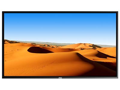 AOC 43F1 43英寸 壁挂广告机 IPS屏横屏显示 智能数字标牌 商用广告一体机