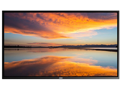 AOC 55F1 55英寸 壁挂广告机 IPS屏横屏显示 智能数字标牌 商用广告一体机