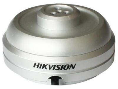 海康威視DS-2FP1021監控攝像頭錄音高保真清晰拾音器  拾音范圍:60㎡ 音頻傳輸距離:300m 連接方式:3芯軟膠線套線(電源、音頻、公共地) 適用場景:室內