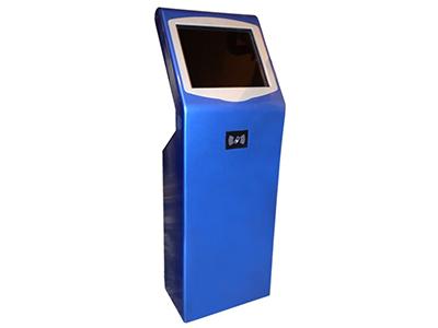 领潮  LC-Y800 刷卡 蓝19寸   触摸屏一体机
