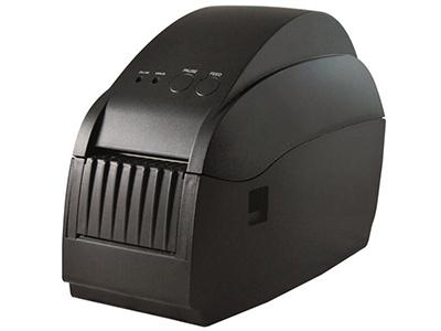 佳博 GP-58T条码打印机  打印速度 3 ~ 5英寸/秒; 外观尺寸 115×230×170毫米(宽×深×高); 通讯接口为USB+串口; BMP、PCX、BAS文件下载存储; 支持2M DRAM存储器,2英寸打印宽度; 标签纸自动定位,支持简体、繁体中文及韩文;