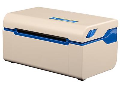 佳博 GP-2024D条码打印机  支持热敏卷筒纸/不干胶纸 支持二维码条码打印功能(QRCODE) 同时满足介质幅面26mm-118mm范围内不同需求,操作简便 纸张自动检验功能 温度自适应控制 外置电源,让打印机更轻便