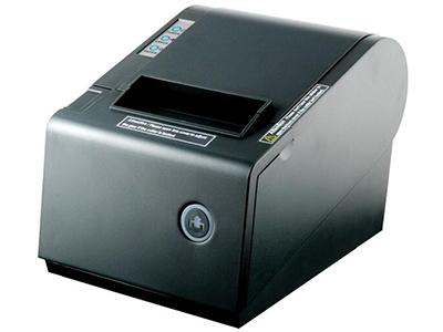佳博 GP-80160IIN票据打印机  160毫米/秒高速打印; 外观尺寸 145×210×140毫米(宽×深×高); 通讯接口为并口、蓝牙接口、串口、USB; 支持EPSON ESC/POS打印指令; 支持驱动高速下载打印功能; 支持打印机身份验证、电脑绑定功能;