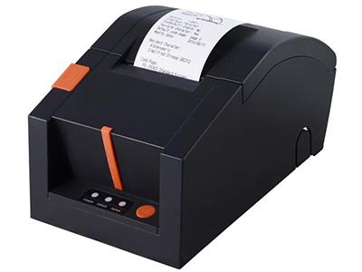 佳博 GP-58FC票据打印机  90毫米/秒打印速度; 外观尺寸 207×132×115毫米(L×W×H); 内置60K Bytes Flash可作存储NV Logo; 具有51条ESC/POS控制命令; 支持Linux系统驱动,支持高级OPOS驱动;