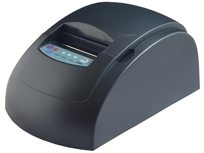 佳博 GP-5860III票据打印机  60毫米/秒打印速度; 外观尺寸 205×125×92毫米(L×W×H); 通讯接口可选并口/串口/网口/USB/蓝牙/GPRS接口; 内置60K Bytes Flash可作存储NV Logo; 具有51条ESC/POS控制命令;