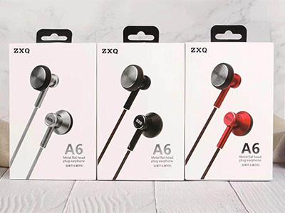 ZXQ A6 金属K歌 磁吸耳机 金属耳塞式设计,佩戴舒适  炫酷磁吸设计 银红黑三色可选 人声细腻饱满,久听不厌 全指向唛克疯,K歌清晰